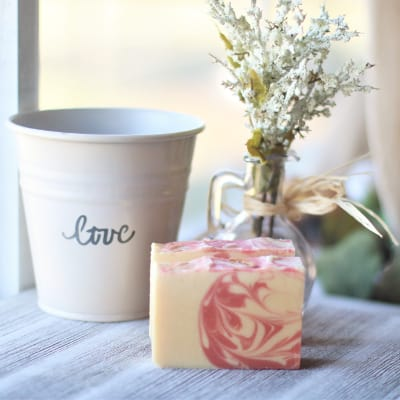 LIngonberry soap