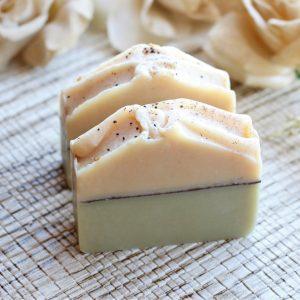 Green Tea Cucumber Soap