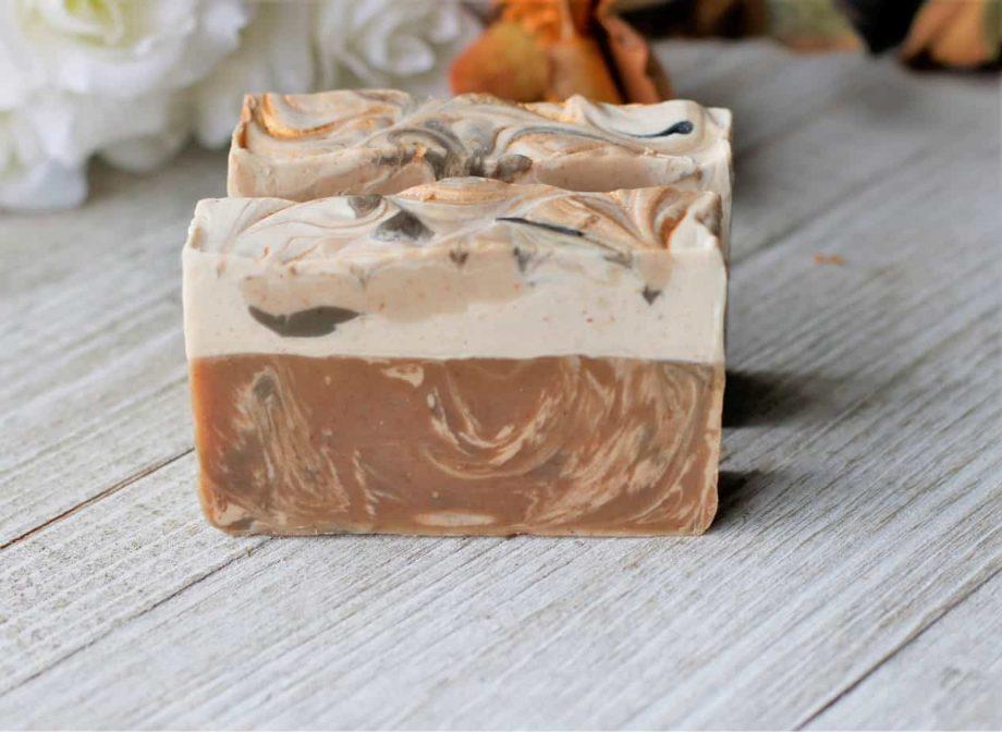 goat milk beer soap