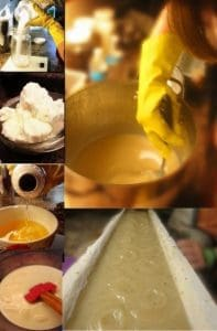soap making process